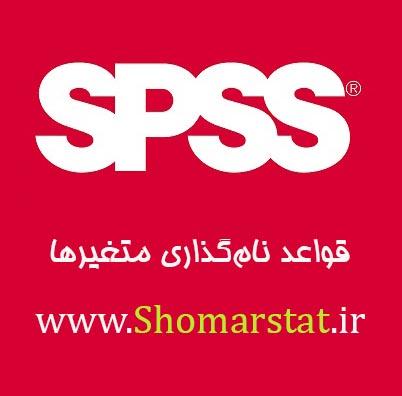 قواعد نام گذاری متغیرها در نرم افزار SPSS