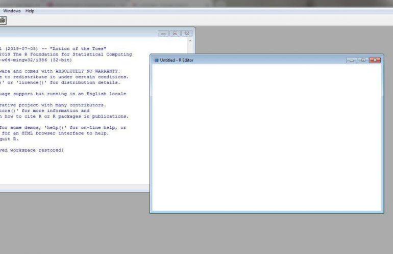 دستورات اولیه در نرم افزار R